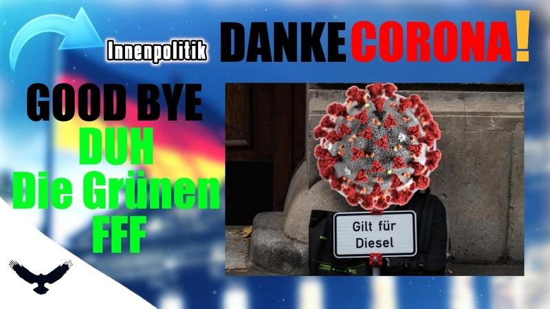 Danke Corona Auf Wiedersehen Deutsche Umwelthilfe