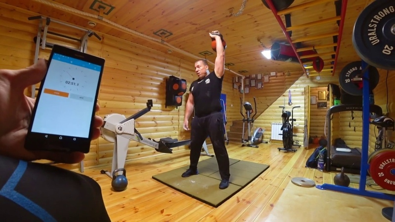 Online World Cup of kettlebell sport Ivan Popov snatch 3 min 32 kg