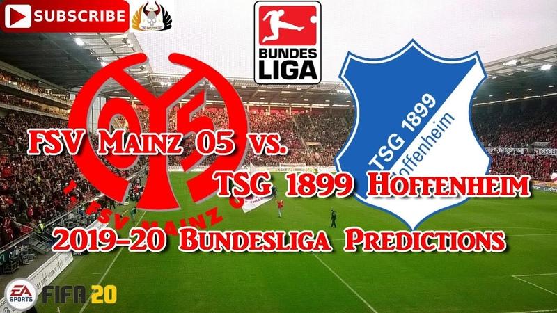 FSV Mainz 05 vs. TSG 1899 Hoffenheim | 2019-20 German Bundesliga | Predictions FIFA 20