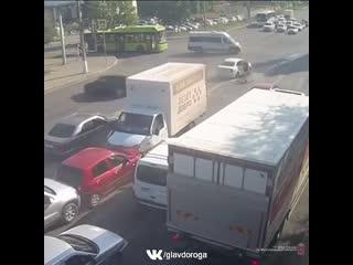 Массовое ДТП в Волгограде