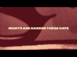 """David Duchovny - """"Nights Are Harder These Days"""" (Official Audio)"""