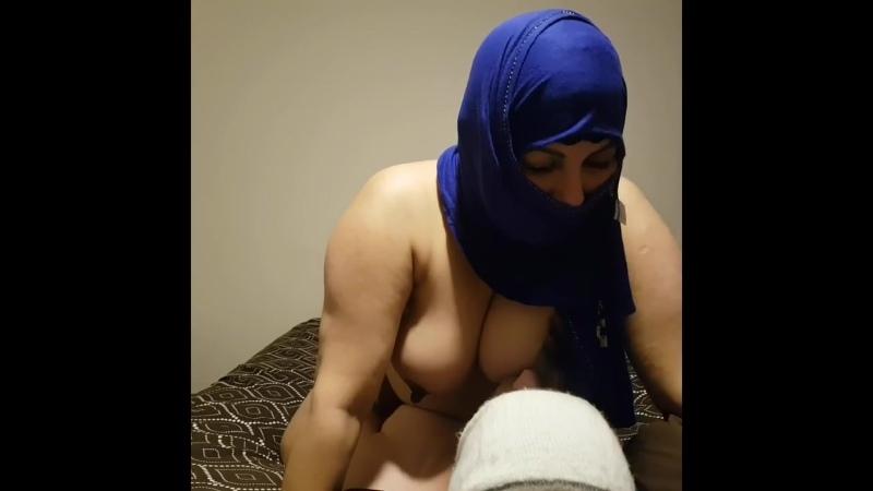 Arab Muslim MILF Lets Stepson Suck her