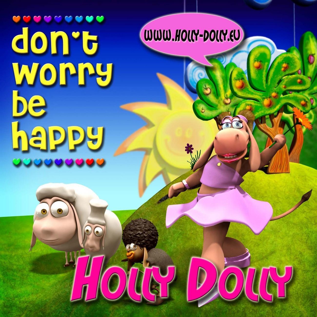 Holly Dolly album Don't Worry Be Happy