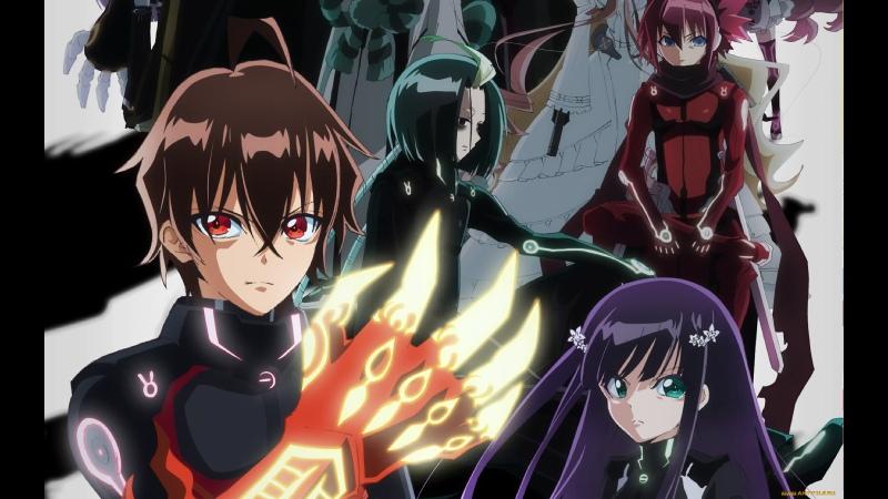 аниме 2016 Две Звезды Онмеджи 25 37 из 50 Sousei no Onmyouji все серии