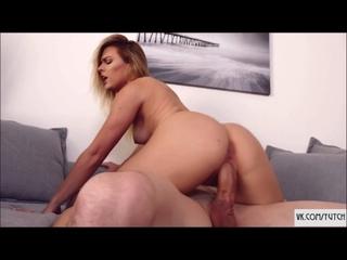 INCEST Aubrey Sinclair Alex D - Pumpkin fuck [sex step sister brother porno oral] casting, anal, big tits, squirt, big ass, crem