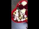 «Сладкое» сердце с цветами для дорогого человека на 8 марта🌹 Состав Роза Гвоздика Гипсофила Эвкалипт Конфеты Маршмелоу 2200₽