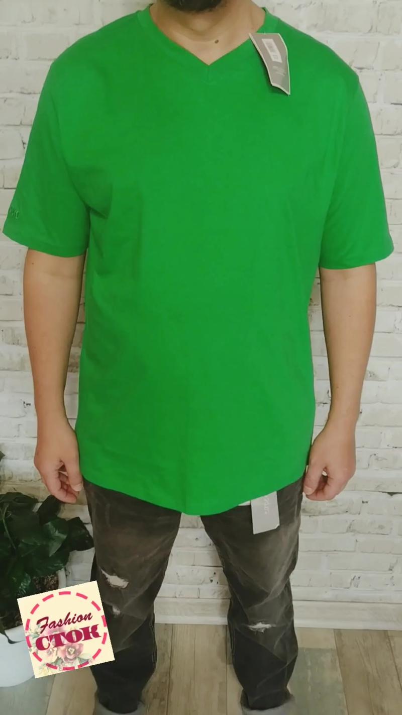 мужские футболки 100% хлопок, сток