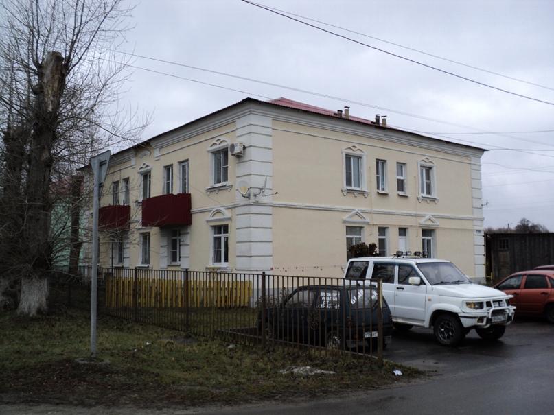 Типовая советская жилая архитектура 50-х годов в Белоомуте., изображение №3