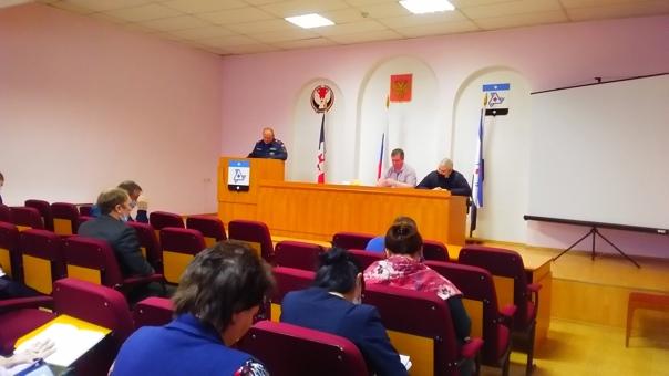 🔥Состоялось очередное заседание комиссии по чрезвычайным сит