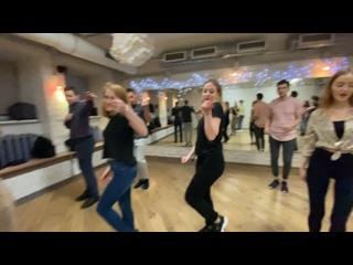 Занятие по бачате с «нуля»   Танцуем сольно