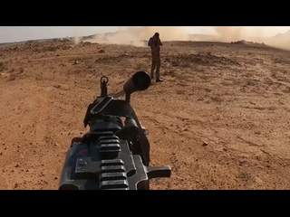 Местные ополченцы устроили засаду на одиночный автомобиль боевиков ИГ в провинции Анбар.