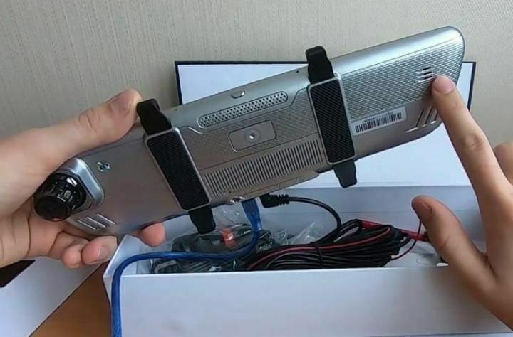 продам регистратор зеркало  2 камеры | Объявления Орска и Новотроицка №16817