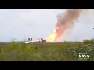 Прототип космического корабля Starship SN4 американской компании SpaceX взорвался в пятницу, 29 мая, во время испытаний на полиг