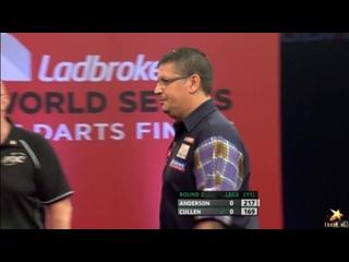 Gary Anderson vs Joe Cullen (PDC World Series of Darts Finals 2016 / Round 2)