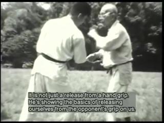 Ju Jutsu.Тосицугу Такамацу демонстрирует технику Такаги Йошин Рю.