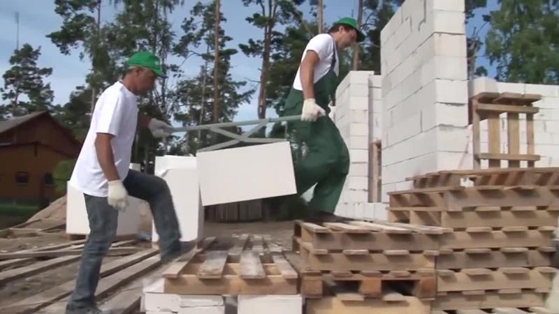 Строительство дома из газосиликатных блоков Н Н