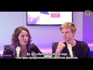 "[TBSubs] Интервью ""KISS FM UK"" с кастом ""Maze Runner: The Scorch Trials"" (Томас, Кая) (рус.саб)"