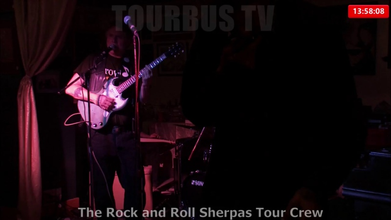 Welcome to TourBus TV. We are airing footage from The Rock and Roll Sherpas Tour Crew as well as shot by Gene Greenwood. Check u
