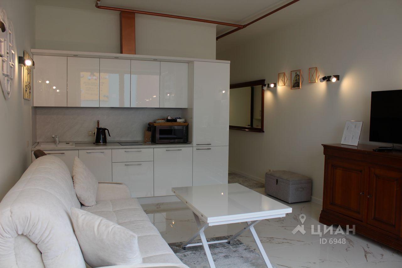 Интерьер квартиры-студии 35 м в Москве.
