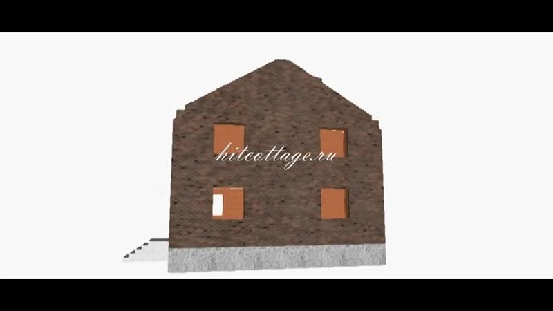 Строительство крыши пошагово.