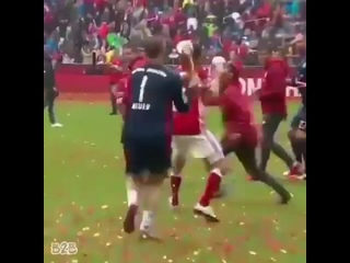 ФК Бавария - весёлые преступники