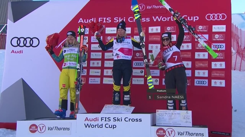 Highlights. Naeslund shines in Val Thorens Ski Cross 1. FIS Freestyle Skiing