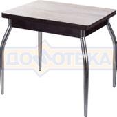 Кухонный стол из ЛДСП Дрезден М-2 ДБ/ВН 01 (Дуб беленый)