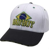 Бейсболка Bad Boy Brazilian White