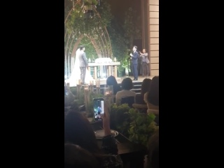 191027 EXO's Chen at his brothers wedding
