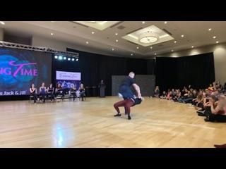 Kyle Redd _ Victoria Henk - SwingTime 2019 Peer Vote Invitational Jack _ Jill 1st Place - WCS Dance