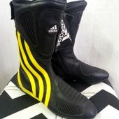 (0365)Мотоботы Adidas, размер 38,5, НОВЫЕ!
