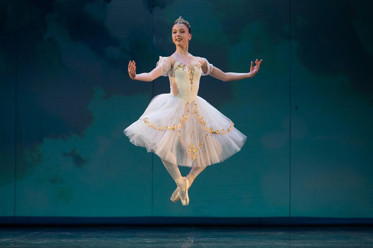 Гойнз Реми. Вариация из балета «Сильвия».