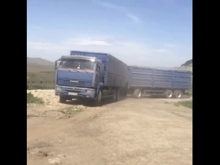 КамАЗ 65117 Зерновоз (Щука взяла по Полной) 😈💪 #PEREGRUZ