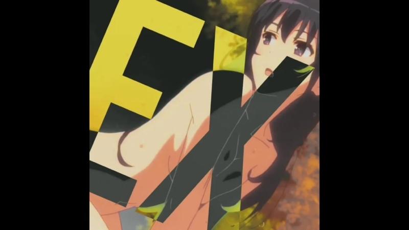 Hot body girl saekano saenai heroine no sodatekata как воспитать героиню из обычной девушки nsfw warning anime vine edit
