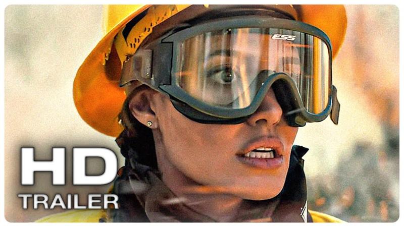 ТЕ КТО ЖЕЛАЕТ МНЕ СМЕРТИ Русский трейлер 1 2021 Анджелина Джоли Триллер HD