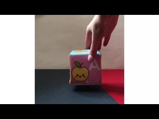 Кубики «Английский алфавит»