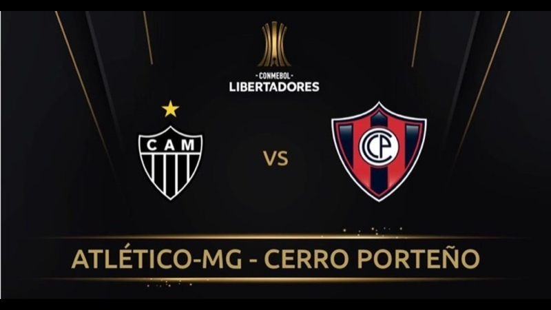 Galo 4 x 0 Cerro Porteño - 3ª Rodada Fase de grupos Libertadores 040521