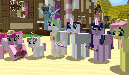 игры майнкрафт пони для девочек для компьютера