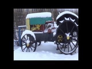 ВКонтакте видеозапись № 1216. M2U03287 - Памятник. Трактор.