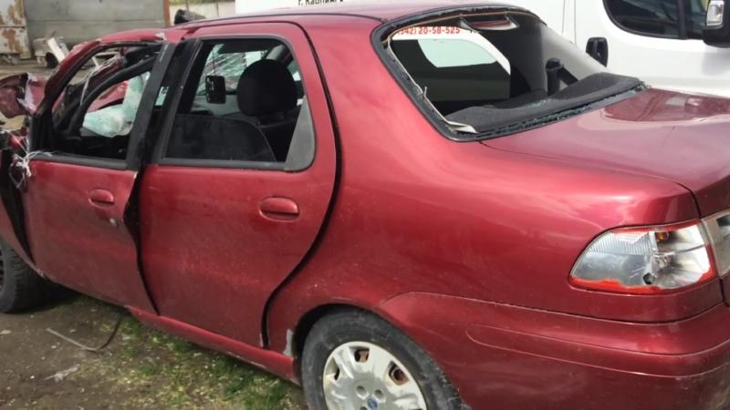 В разборе Fiat Albea Фиат Альбеа ДВС 1 4 77л с 350А1000 МКПП Седан 2008г