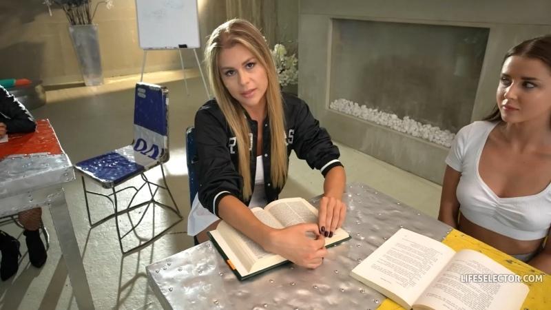 Zlata Shine Life Selector Detention Club, , POV blonde student teacher schoolgirl uniform blowjob sex