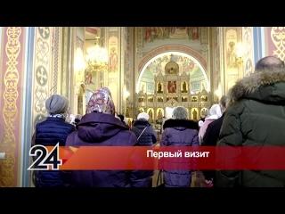 Митрополит Казанский и Татарстанский Кирилл возглавил Божественную литургию в Кафедральном соборе города