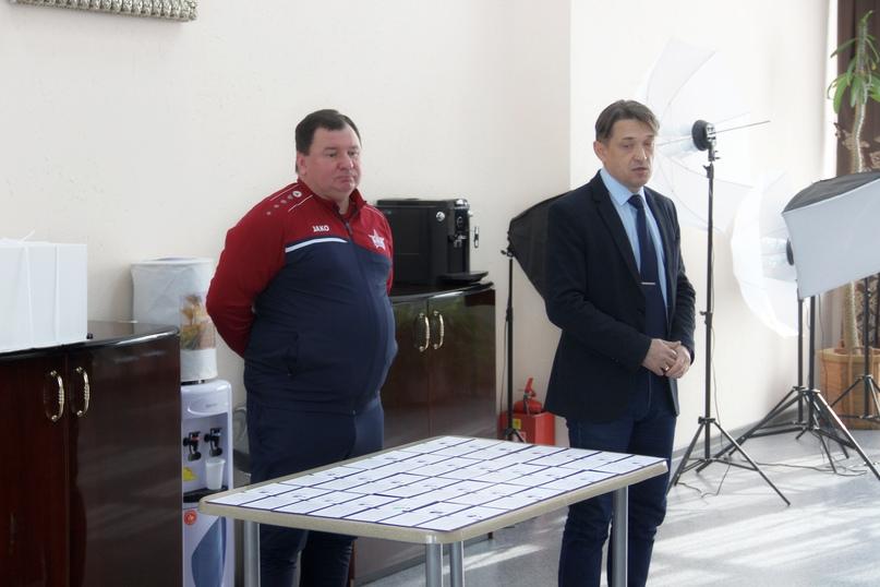 Игроков команды «СКА-Хабаровск-2009» посвятили в армейцы, изображение №2