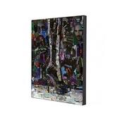 Репродукция картины, печать на холсте 34x47,2 см