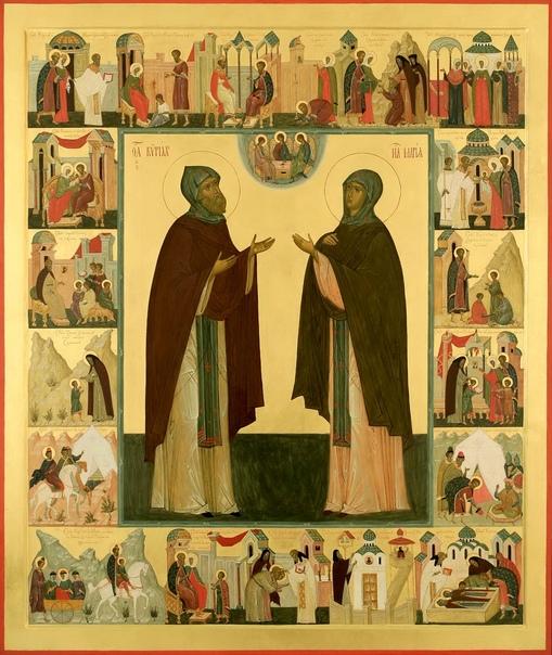 11 октября - прпп. схимонаха Кирилла и схимонахини Марии, родителей прп. Сергия Радонежского