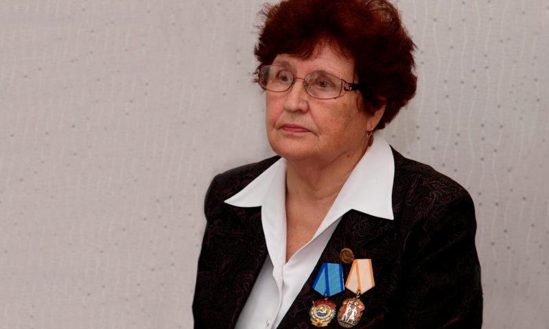 В Кимрах скончалась бывший председатель городского совета ветеранов Нина Шошина