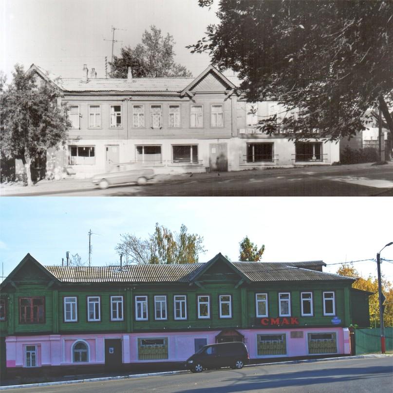 Дом Гладковых 1988-1989 гг. / 2020 г.