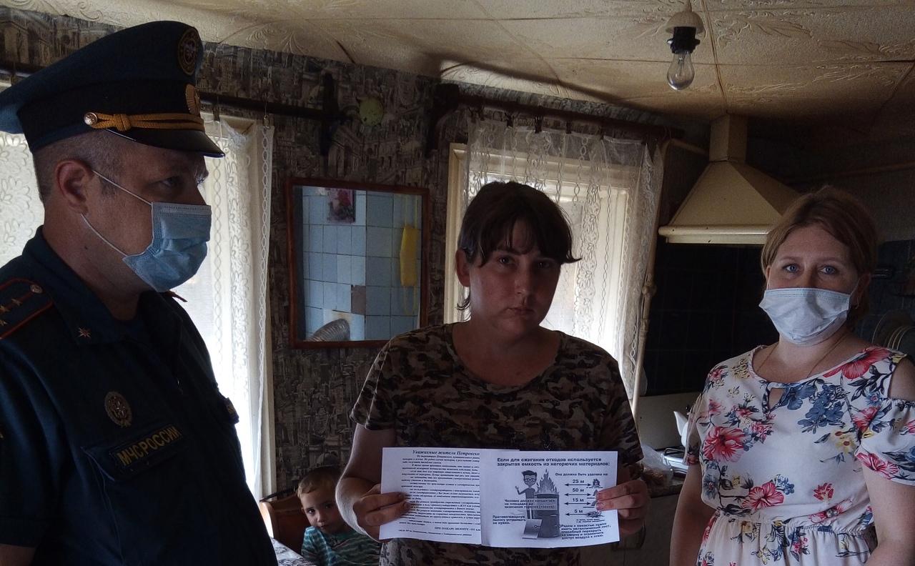 В Петровском районе продолжается профилактическая работа с семьями, воспитывающими несовершеннолетних детей