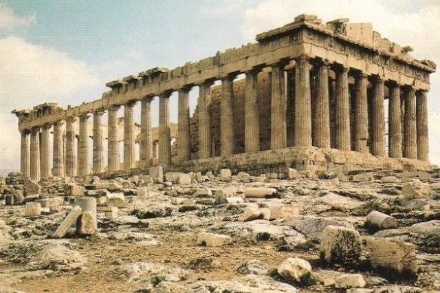 Греки знали об оптических иллюзиях, наверно, больше нас с ва...