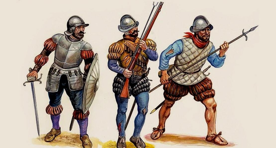 Испанские пехотинцы